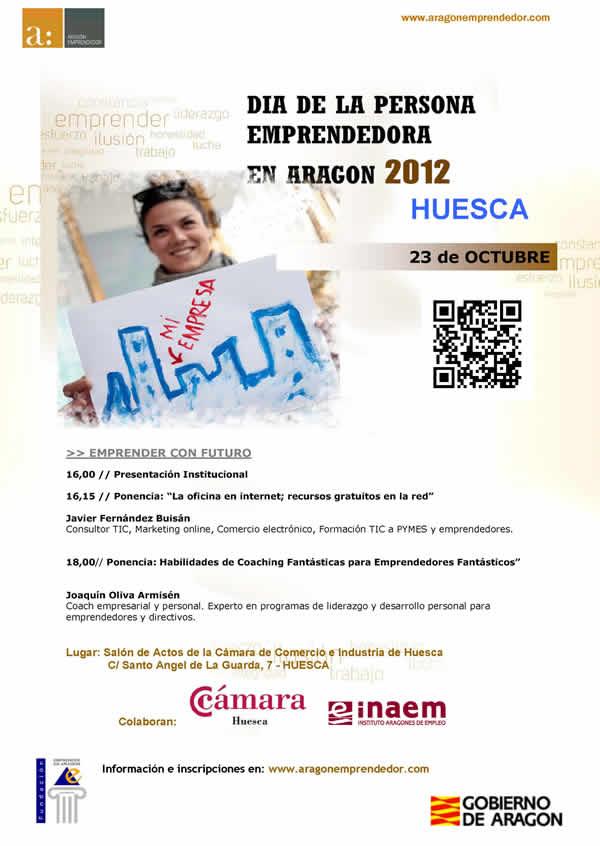 DIA DE LA PERSONA EMPRENDEDORA EN ARAGON 2012 EN HUESCA