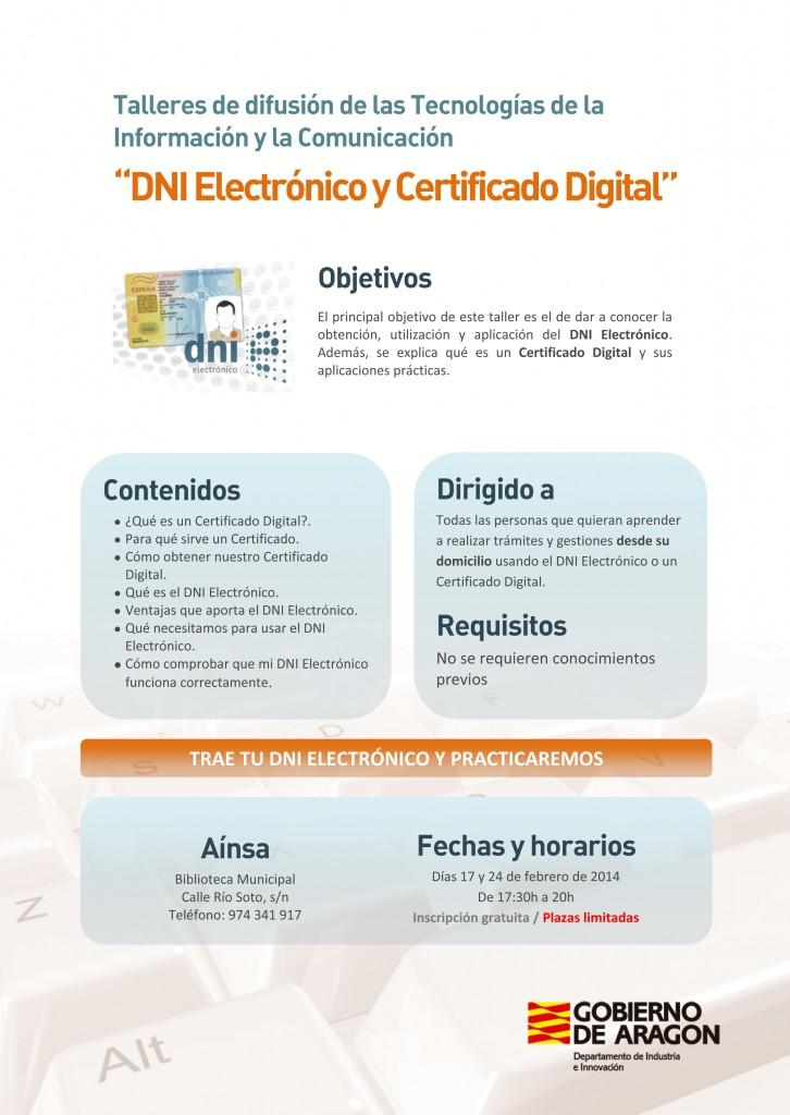 DNI Electrónico y Certificado Digital